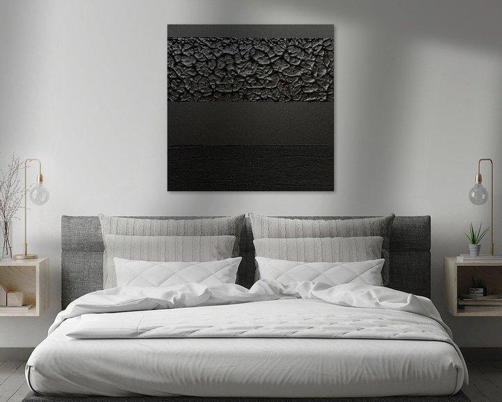 Impression: Texture noire sur MDRN HOME