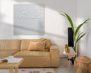 Weiß Textur von MDRN HOME