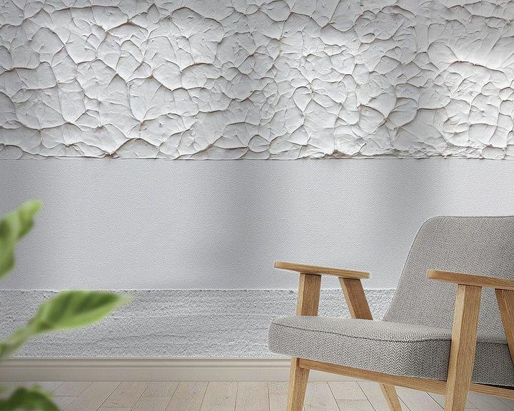 Beispiel fototapete: Weiß Textur von MDRN HOME