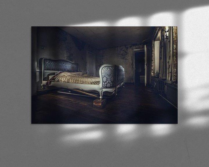 Sfeerimpressie: slaapkamer van Christophe Van walleghem