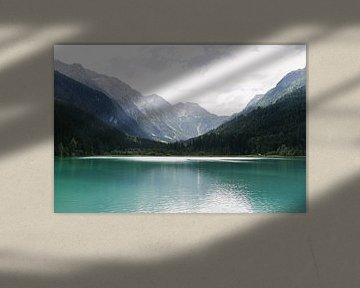 Prachtig meer in Oostenrijk | Jägersee |Turquoise water | Bergen | Reisfotografie van Mirjam Broekhof