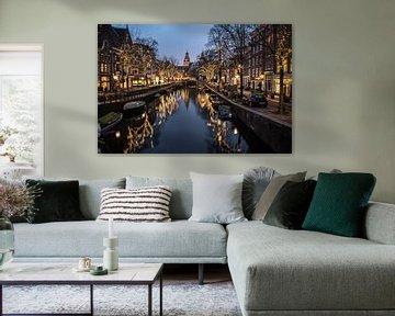 Die Nieuwe Spiegelgracht von Amsterdam