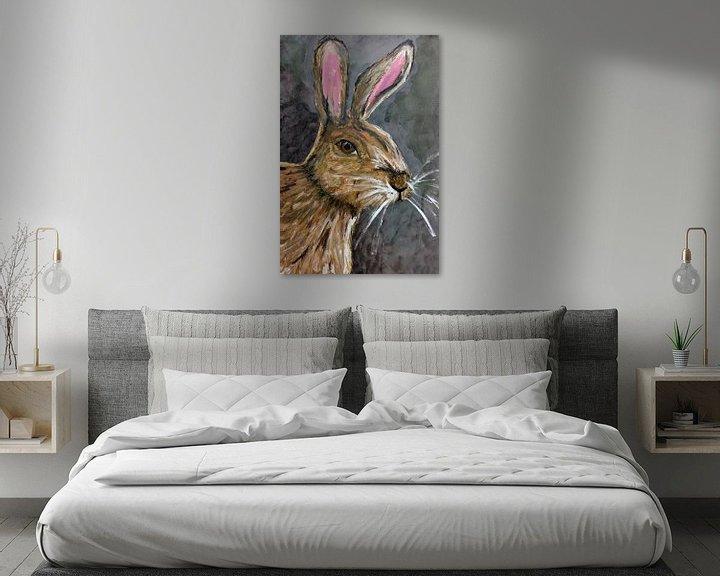 Sfeerimpressie: The Brown Rabbit van Jolanda Janzen-Dekker