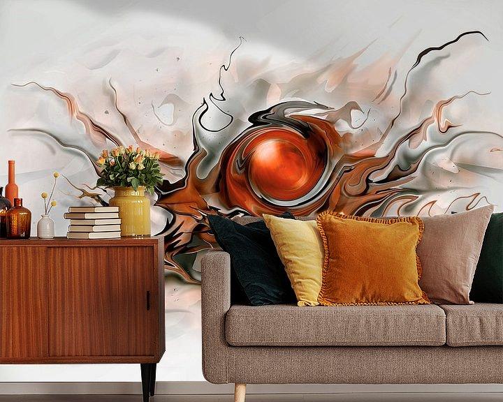 Beispiel fototapete: Akbstrakte moderne Kunst von Stefan teddynash