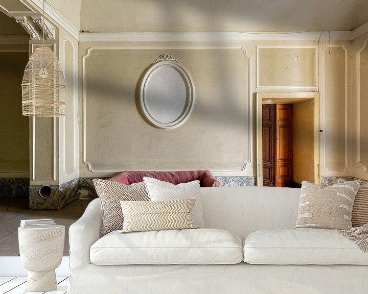Sfeerimpressie behang: Neem plaats van William Linders