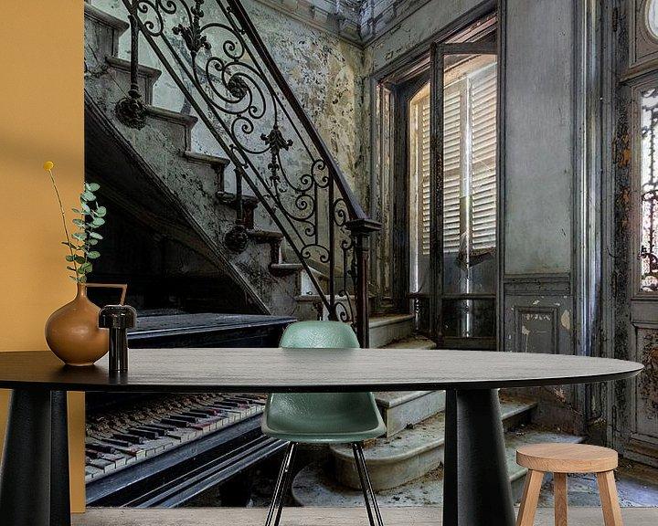 Beispiel fototapete: Der Klaviersaal von William Linders