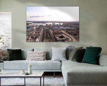 Almere vanaf de WTC