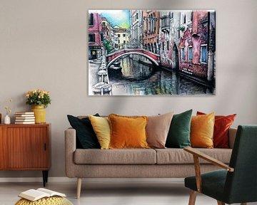Städte-Serie 10 - Venedig von Yeon Yellow-Duck Choi