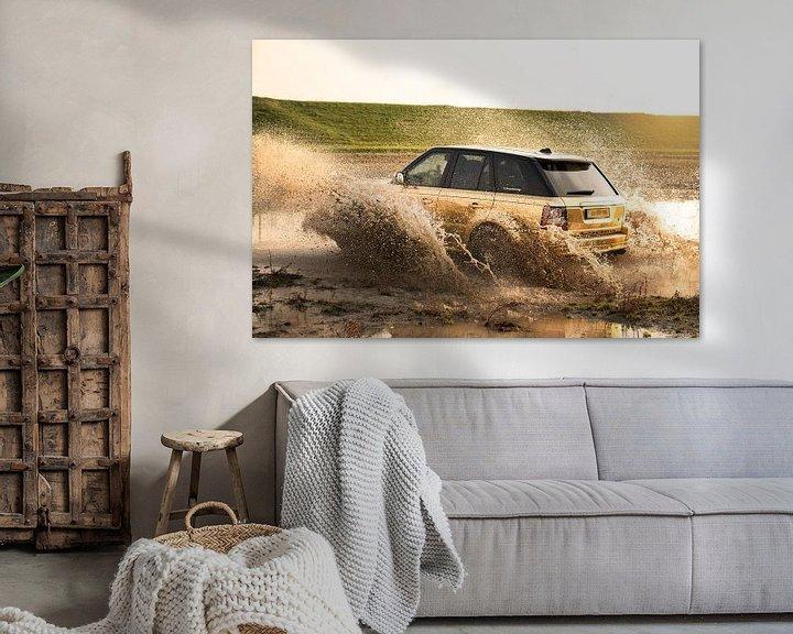 Sfeerimpressie: range rover van Kim van Beveren