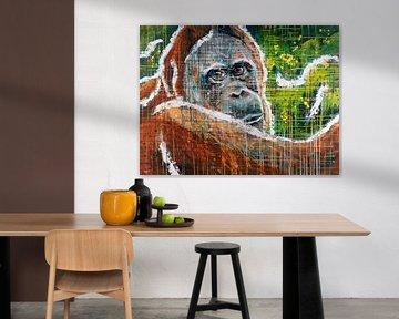 Beobachten Sie den Orang-Utan von ART Eva Maria