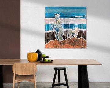 Believe the Polar Bears van ART Eva Maria