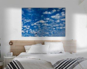 Blauwe Lucht Kunst| Landschapsfotografie | Minimalistische fotografie van Part of the vision