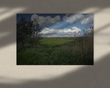 Hollands Landschap van Mart Houtman