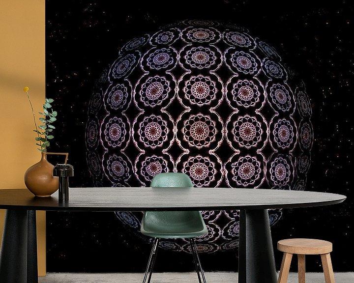 Sfeerimpressie behang: Kaleidoscoop van Antwan Janssen