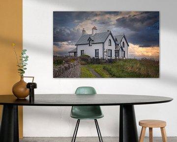 Huis aan de kust van St. Abbs - Scotland