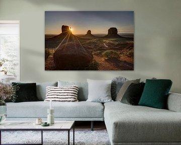 Monument Valley, Colorado, États-Unis sur Afke van den Hazel