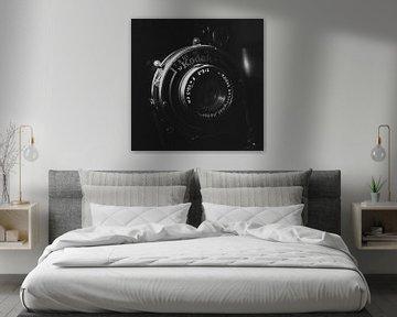 Appareil photo analogique Kodak vintage | photo noir et blanc sur Diana van Neck Photography