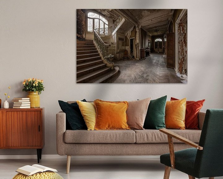 Beispiel: Verlassener Korridor von William Linders