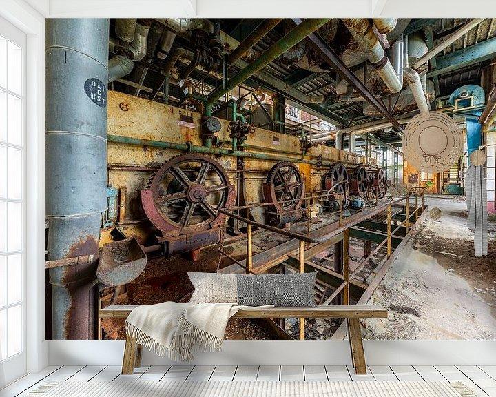 Beispiel fototapete: Räder von William Linders