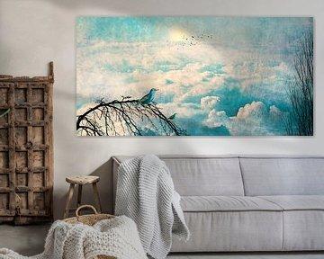 HEAVENLY BIRDS III-B2 panorama van Pia Schneider