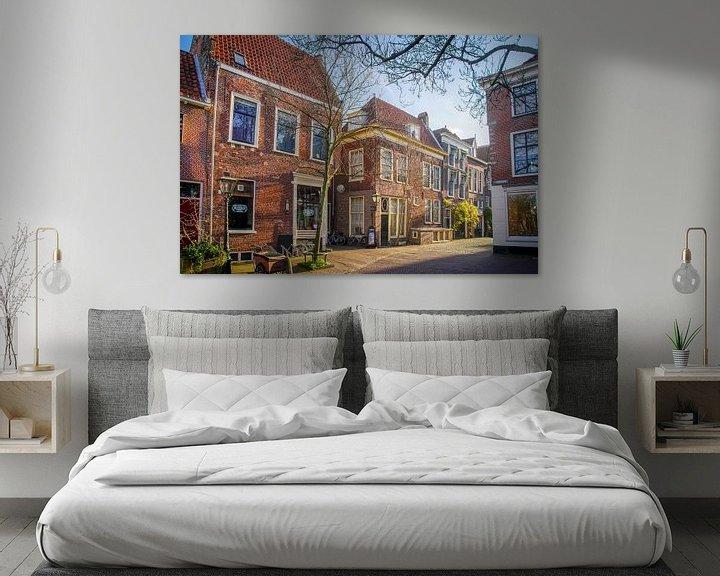 Beispiel: Pieterskerkgracht in Leiden von Dirk van Egmond