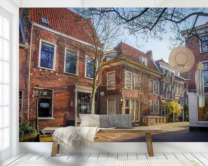 Beispiel fototapete: Pieterskerkgracht in Leiden von Dirk van Egmond