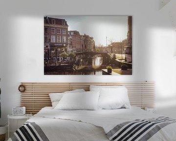 Aalmarkt Leiden van Dirk van Egmond