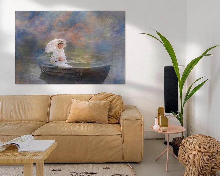Sfeerimpressie: genietend van de rust van Yvette Bauwens