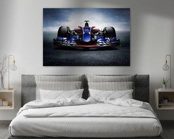 2017 Sainz F1 Toro Rosso STR12.
