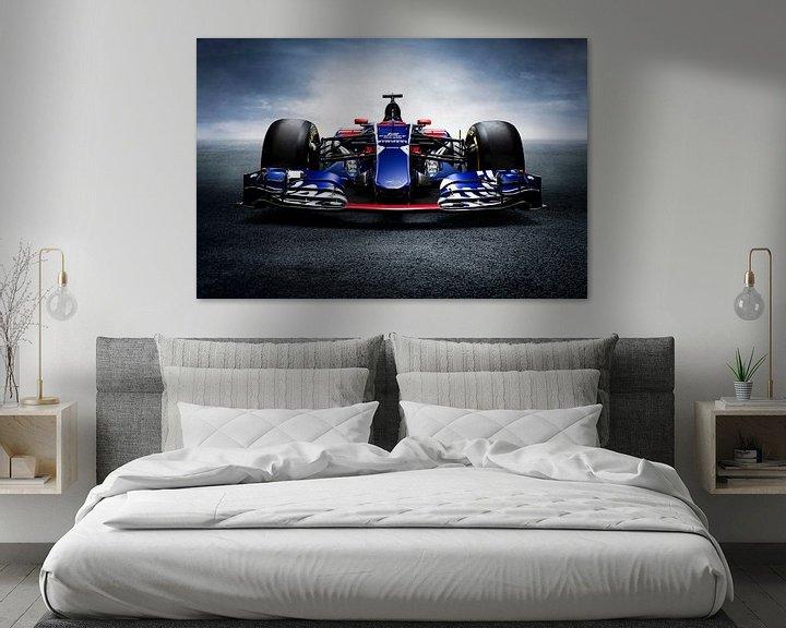 Sfeerimpressie: F1 Formule 1 Toro Rosso STR12 2017 Carlos Sainz jr. van Thomas Boudewijn
