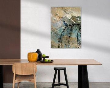 HEAVENLY BIRD IIc-Portrait von Pia Schneider