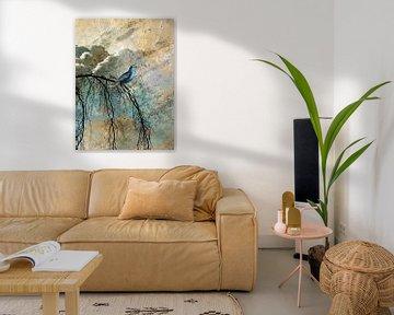 HEAVENLY BIRD IId-Portrait von Pia Schneider