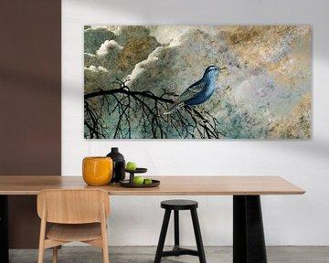 HEAVENLY BIRD IIc-Panorama von Pia Schneider