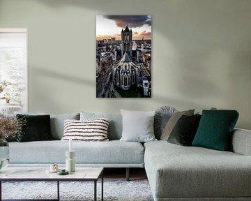 Sint-Niklaaskerk in Gent van Kimberly Lans