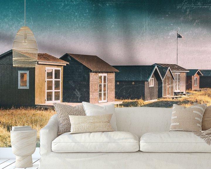 Beispiel fototapete: Strandhäuser von Kirsten Warner