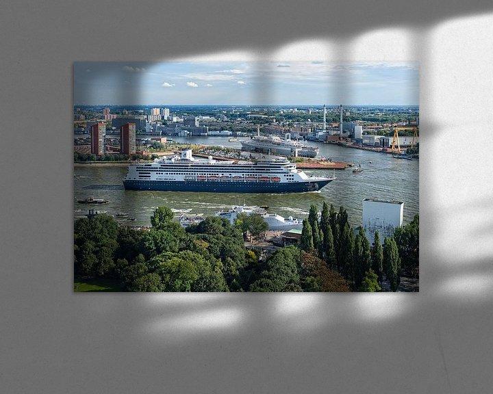Sfeerimpressie: MS Rotterdam en SS Rotterdam / Holland America Line / Euromast van Rob de Voogd / zzapback