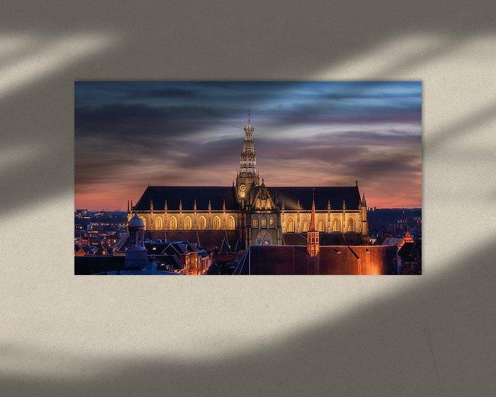 Impression: Le Grand ou St. Bavokerk sur Reinier Snijders
