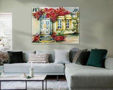 Haus an der Algarve. von Ineke de Rijk