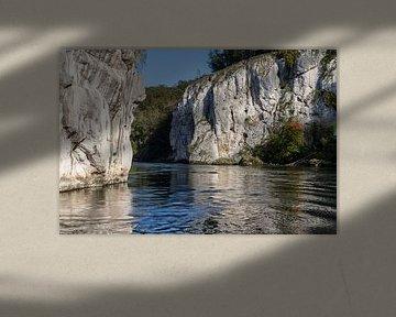 Donaubreker bij Weltenburg van Reiner Conrad