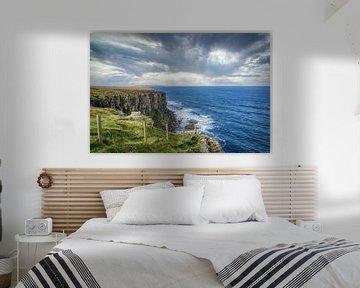 De kustlijn van Dunnet Head - Schotland