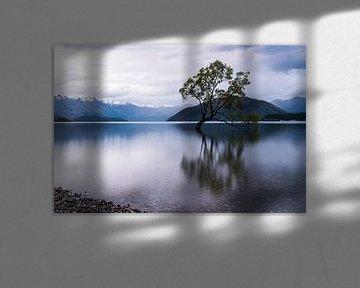 Lac Wanaka, Nouvelle-Zélande sur Linda Schouw