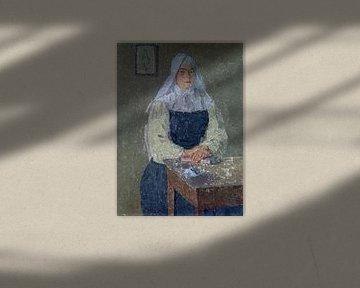 Nonne, Gwen John, 1910er Jahre