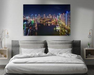Skyline und Stadtbild Rotterdam von Original Mostert Photography