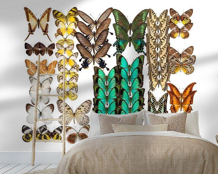Impression: Collection de papillons sur Marielle Leenders