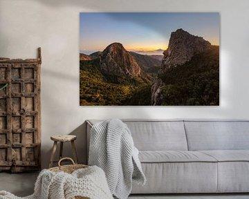 Mirador de Los Roques - La Gomera van Robin Oelschlegel