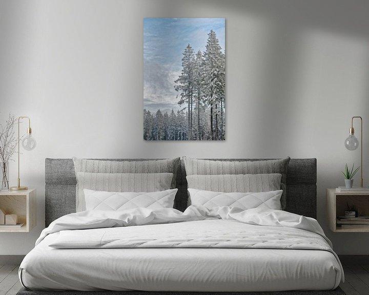Beispiel: Winterwald von Rik Verslype