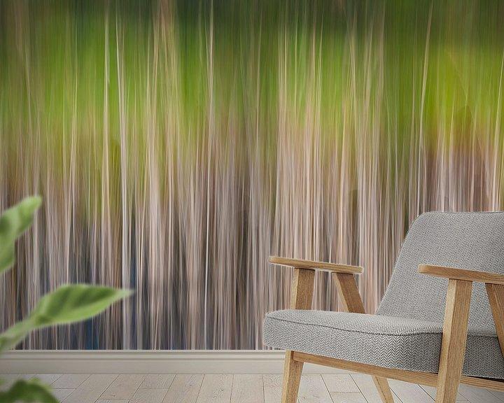 Sfeerimpressie behang: Kleurrijk riet van Mark Bolijn