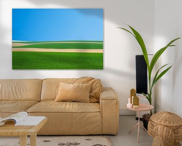 Paysage Culturel #3 van Floris Kok