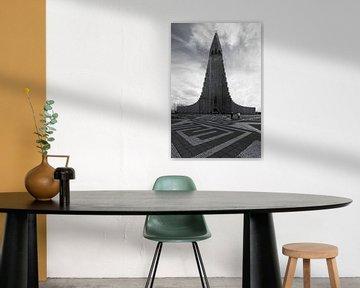 Hallgrímskirkja  Reykjavik Island von Patrick Lohmüller