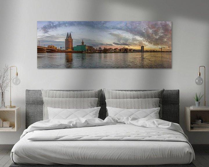 Sfeerimpressie: Skyline Roermond in de namiddag I van Teun Ruijters